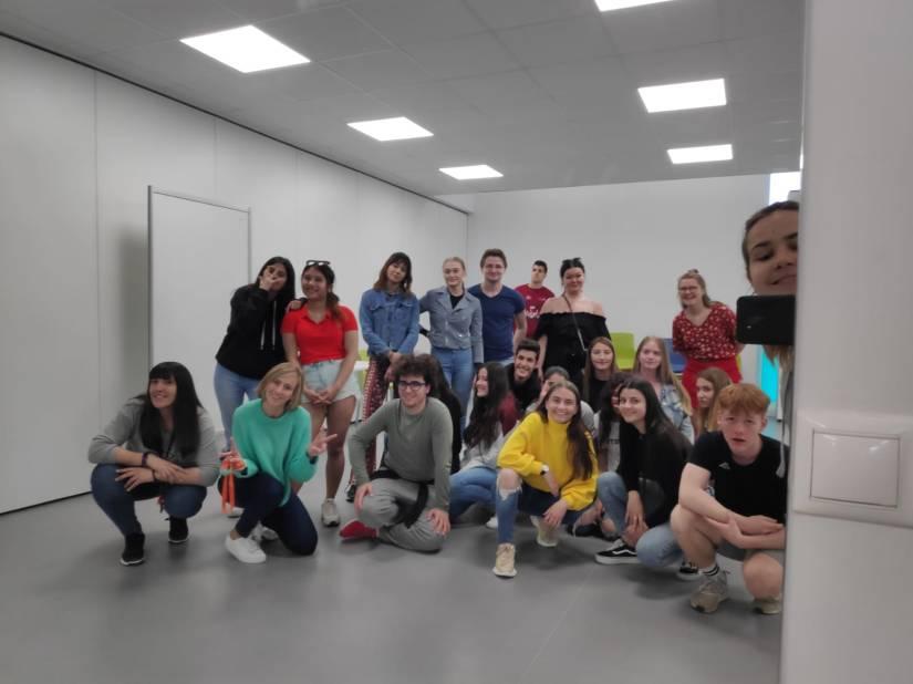 El grup Connecta Jove coneix al grup de voluntarisNoruecs